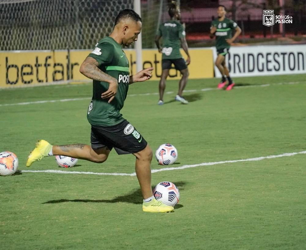 entrenamiento de Atletico Nacional en Paraguay 1