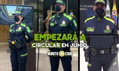 Nuevo uniforme de la Policía Nacional