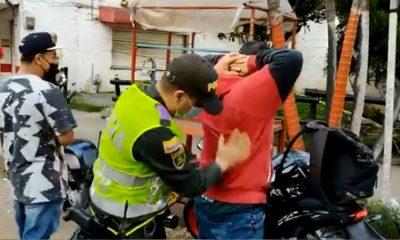 ¡No de papaya para que lo multen! Policía realiza controles en Belén Rincón
