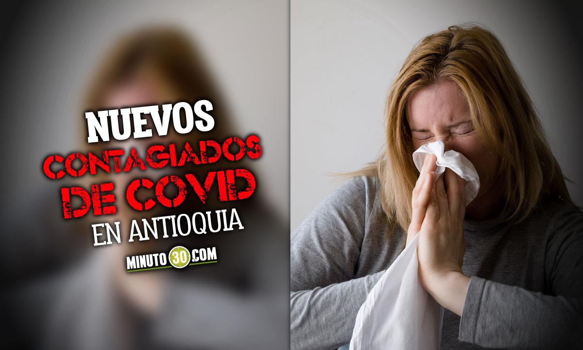 Hoy reportaron en Antioquia 2.263 nuevos contagiados de Covid